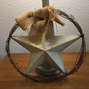 Other - Rustic Star Wall Decor